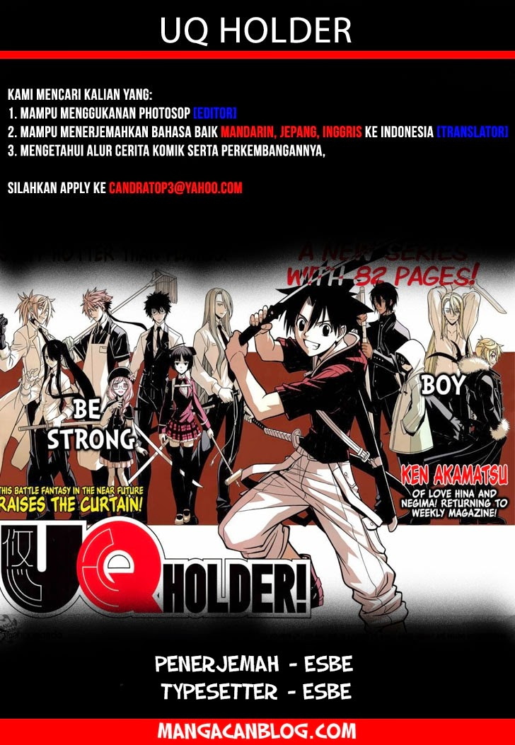 Komik uq holder 053 - buat latihan 54 Indonesia uq holder 053 - buat latihan Terbaru 1|Baca Manga Komik Indonesia