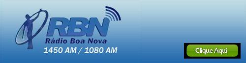 Ouça a rádio BOA NOVA