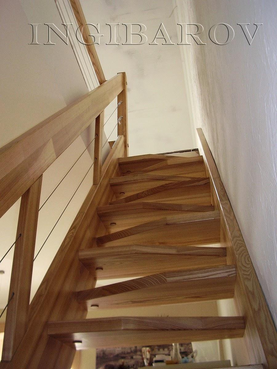 Изготовление деревянных лестниц на заказ Севастополь
