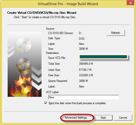 Create Virtual CD DVD of Your Optical Media's Using VirtualDrive Pro From FarStone