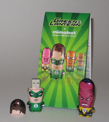 DC Comics x Mimoco USB Flash Drives - Sinestro and Hal Jordan Green Lantern Mimobots