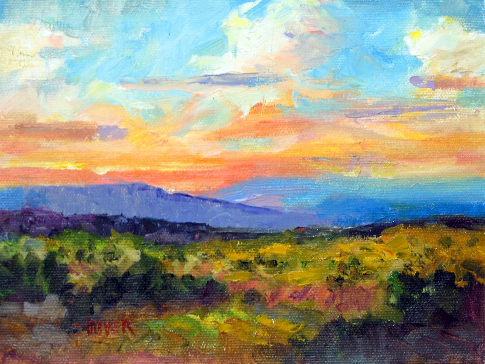 Art talk julie ford oliver the simplified landscape for Artwork landscapes