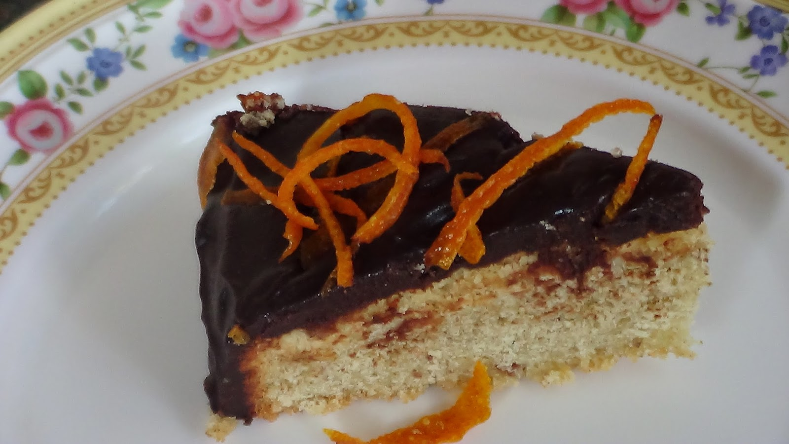 Orange & Almond Syrup Cake