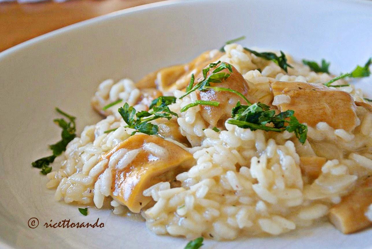 Risotto ai funghi ricetta risotto classica