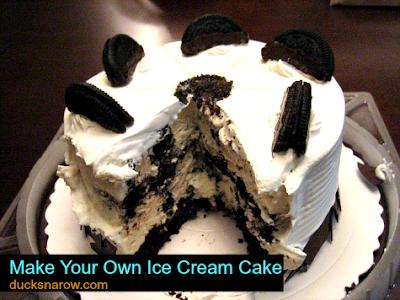 ice cream cakes, birthday cake