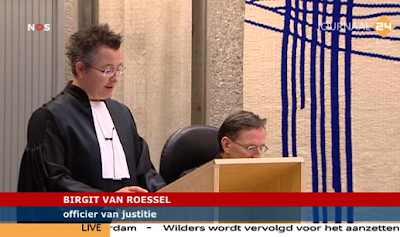 Prosecutor Birgit van Roessel