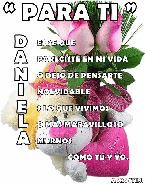 """ DANIE... Carlos Ca"