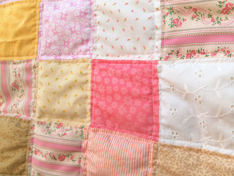 Yay I Made It Baby Quilt