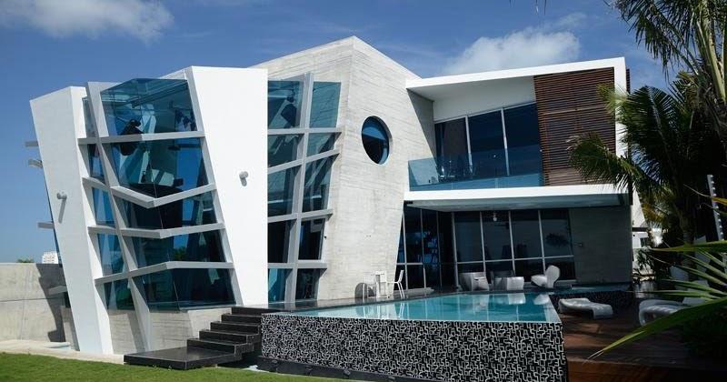 Dise o de interiores arquitectura casa con exterior for Diseno de casas interior y exterior
