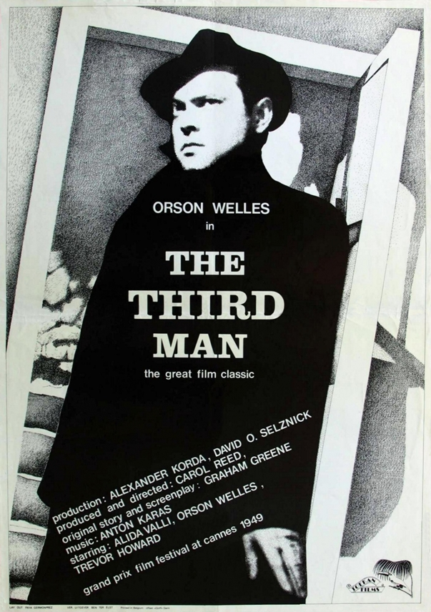 Orson Wells The Third Man