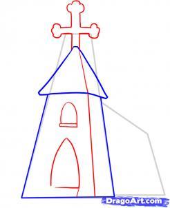 Curso De Desenho Como Desenhar Uma Igreja