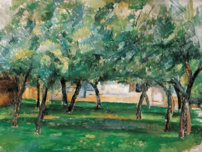 Paul Cézanne - Ferme en Normandie,1885-1886