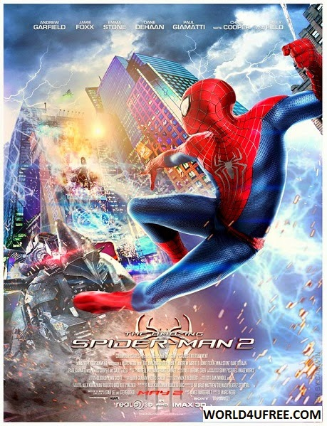 The Amazing Spider-Man 2 (2014) BRRip 480p 395 MB