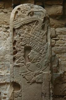 Paysages Mexique Chiapas Yaxchilan Sculpture Maya blog photos voyage