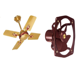 Buy Branded fan's Upto 40% off (bajaj, Khaitan, indigo) at Rs.898 : Buy To Earn