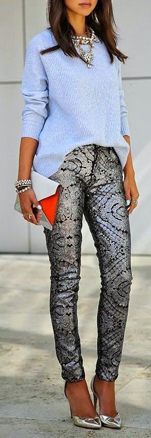 damask desen, moda, kombin, giyim, tarz