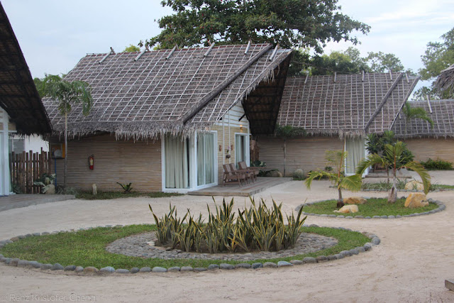 Villas and rooms in Blue Palawan Resort