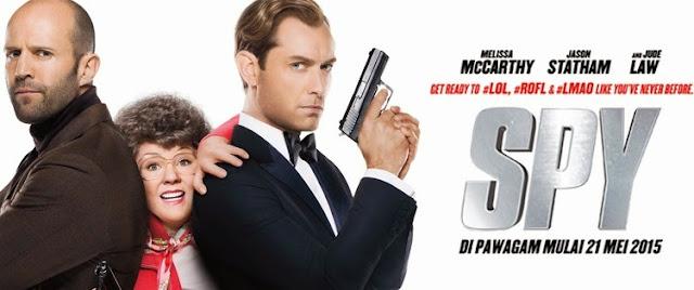 Spy movie banner