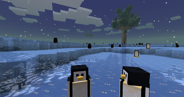 The Twilight Forest Mod pingüinos