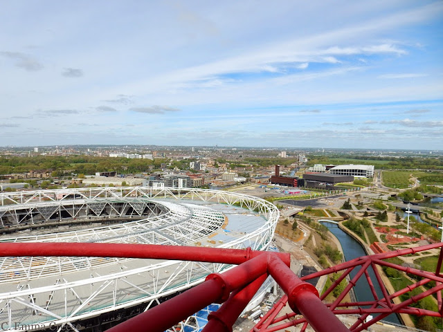 ArcelorMittal Orbit Olympic Park designed by Anish Kapoor and Cecil Balmond