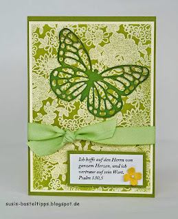 something lacy Schmetterling thinlit von Stampin Up