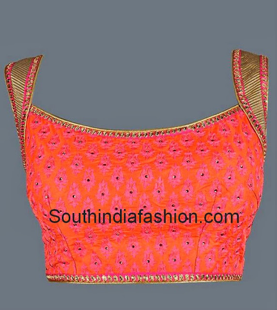 blouse front neck designs latest saree blouse design