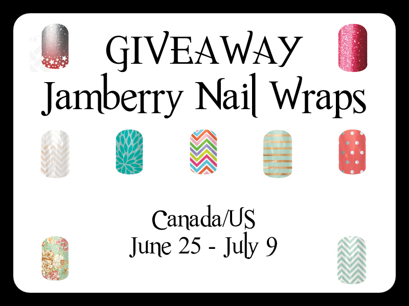 CLOSED] Giveaway: Jamberry Nail Wraps (Canada/US)
