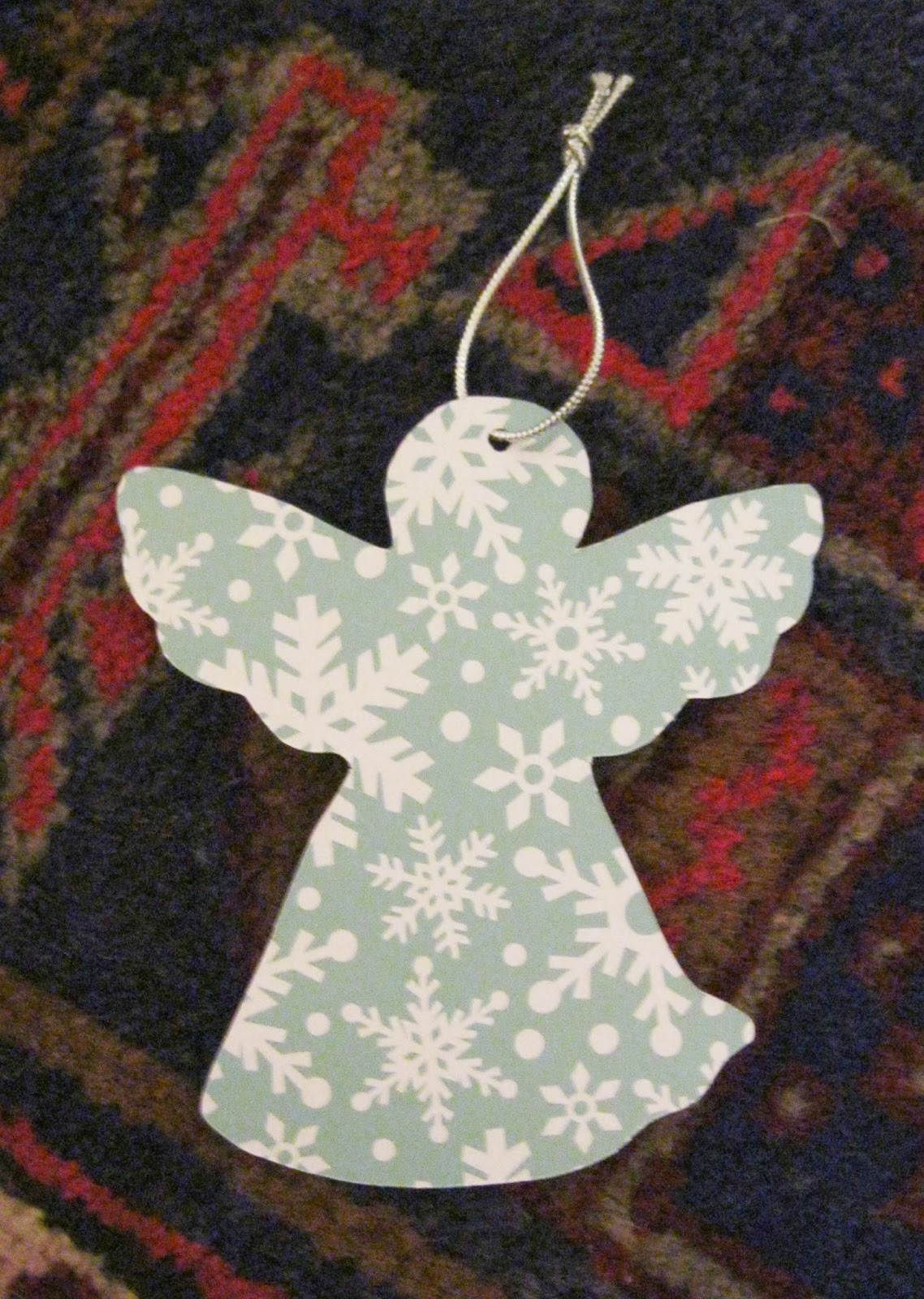 Angel Tree Tags Template Scrapbook paper angel