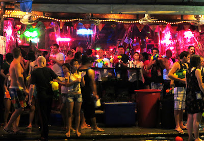 Thailand nightlife at Patong Phuket