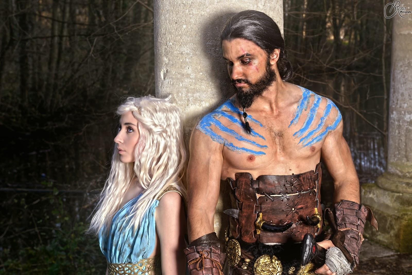 cosplay de Khal et sa khaleesi