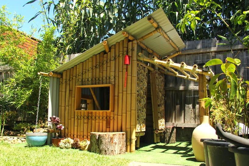 Modulo de Vivienda con Bambu y Materiales Reciclados