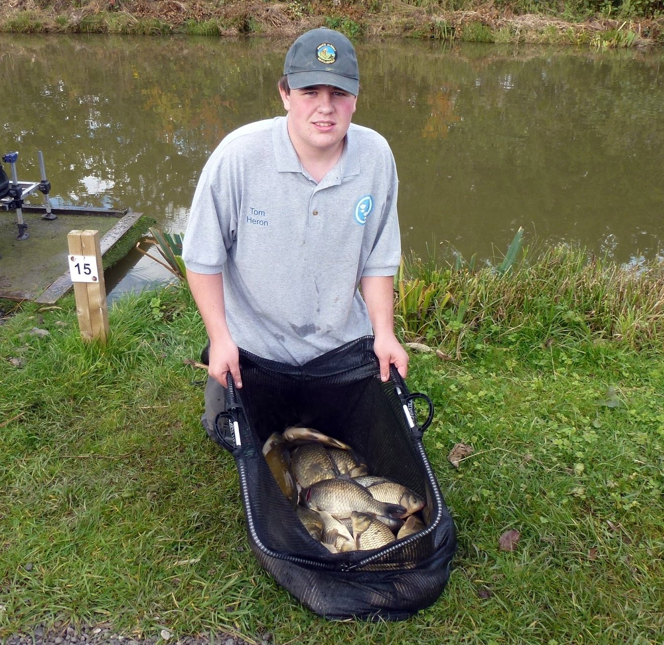 Cheshire angling development group: north west inter county match 2012