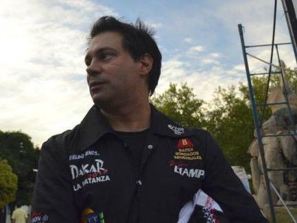 Ariel Ciampi fue reconocido en la Fiesta Nacional del Automovilismo