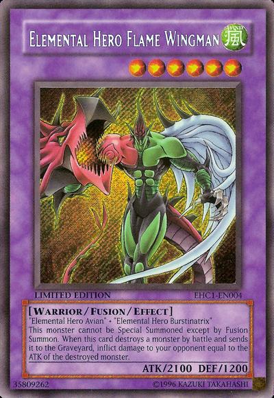 duelo de prueba Elemental+Hero+Flame+Wingman