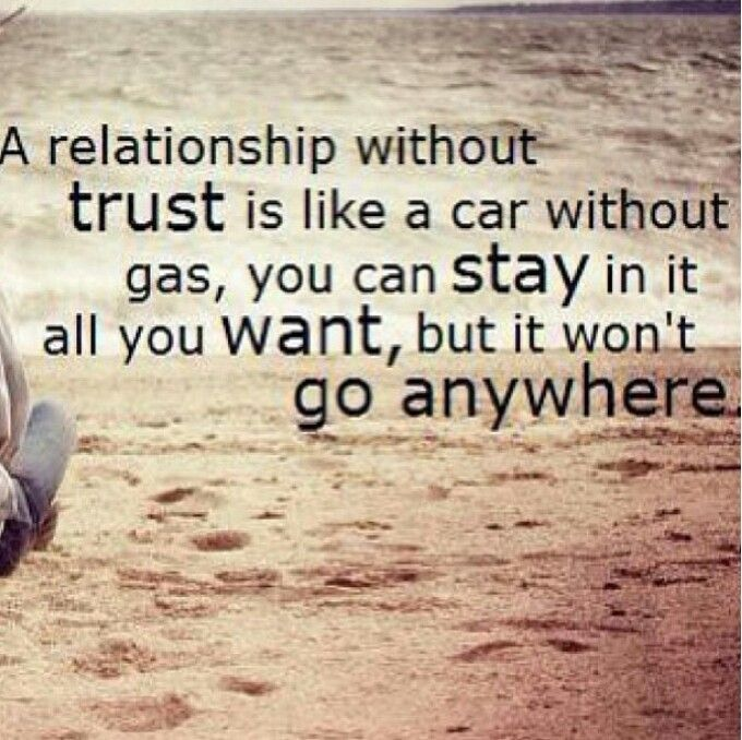 Quote about trust