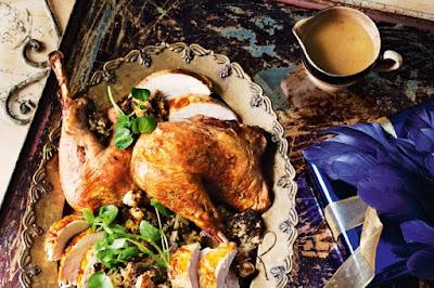 Lombardy-style turkey with marsala gravy Recipe
