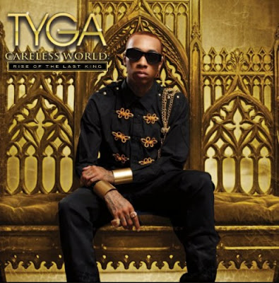portada de careless world de tyga