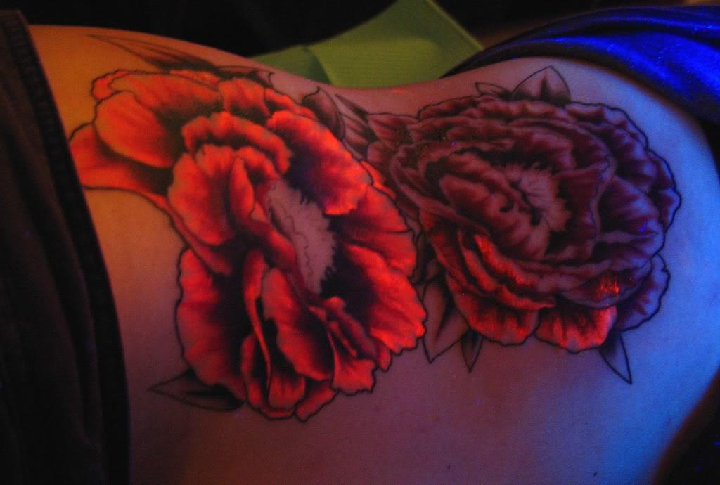 New uv tattoos blacklight tattoos special ink tattoos for Ink ink tattoo