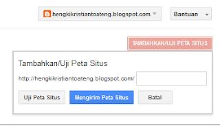 cara mendaftarkan sitemap blog ke google