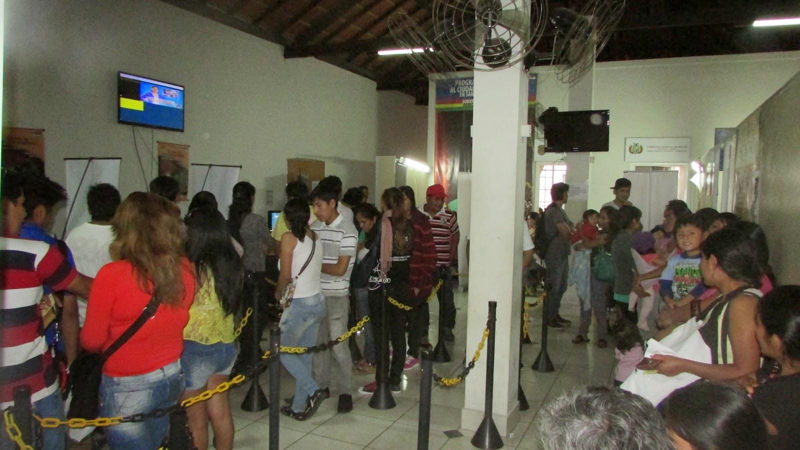 Bolivia en brasil for Oficina de empadronamiento