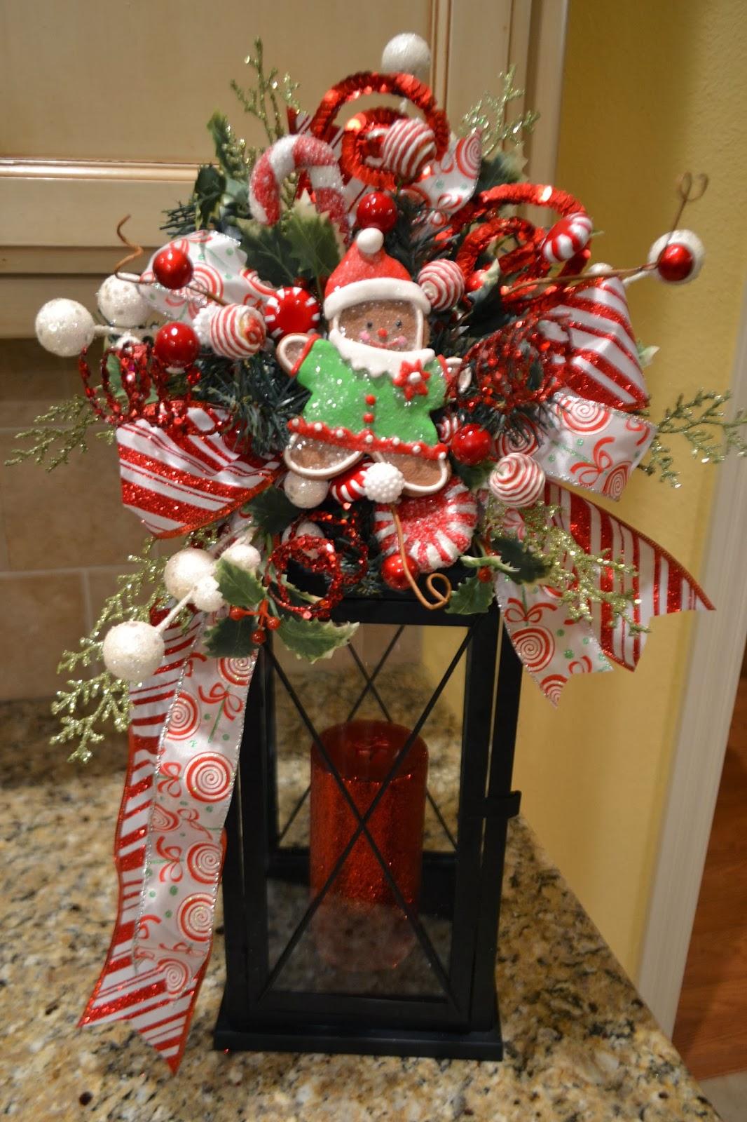 Kristen\'s Creations: Christmas Lantern Swags