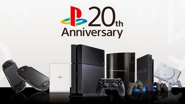 Playstation 20周年, プレイステーション20周年