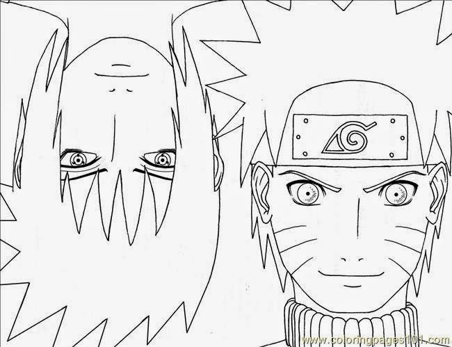 Ausmalbilder Naruto