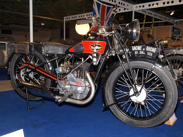 Gnome et Rhne Motorcycles | Vintage Motorcycles | Rare Motorcycle