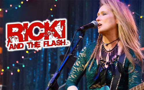Poster Of Hollywood Film Watch Online Ricki and the Flash 2015 300MB BRRip 480P HD In English Free Download