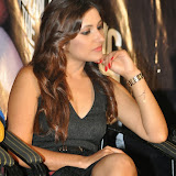 Prabhjeeth Kaur Hot Photo Gallery in Short Dress at Intelligent Idiot Movie Logo Launch 30