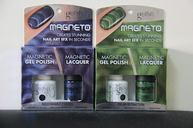 Gelish Magnet Blue & Green