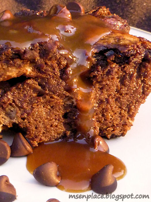 Ms. enPlace: Get Your Chef On: Chocolate {Mocha Latte Bread Pudding}