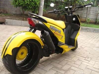 honda beat modifikasi lowrider
