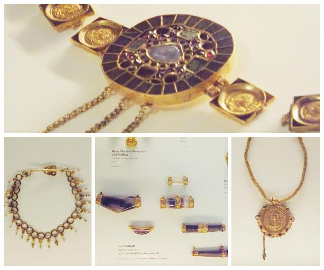 Architecture, Art, Getty Villa, Jewelry